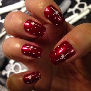 Christmas nails archives christmas do it yourself diy christmas nails solutioingenieria Image collections