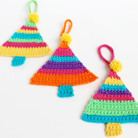 Crocheted Christmas Decorations Christmas Do It Yourself