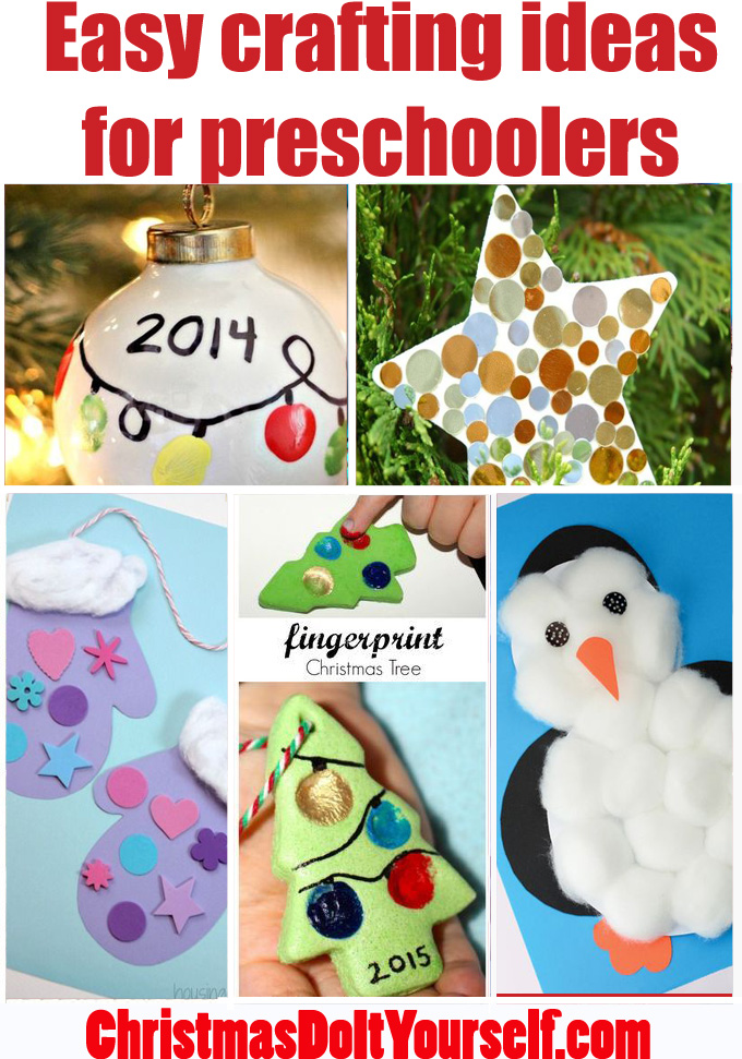 Great Xmas crafts for preschoolers